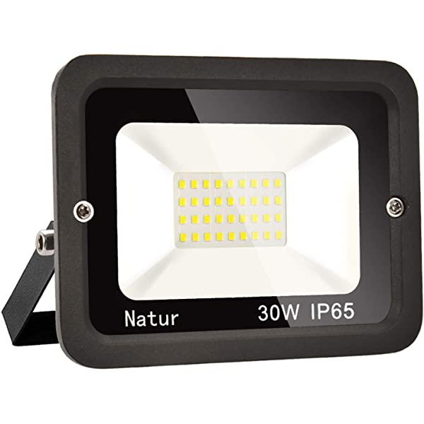50W LED Foco exterior 3000K Blanco cálido Impermeable IP65 ...