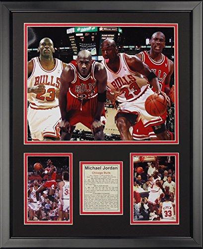 Legends Never Die Michael Jordan Collage Framed Photo Collage, 16