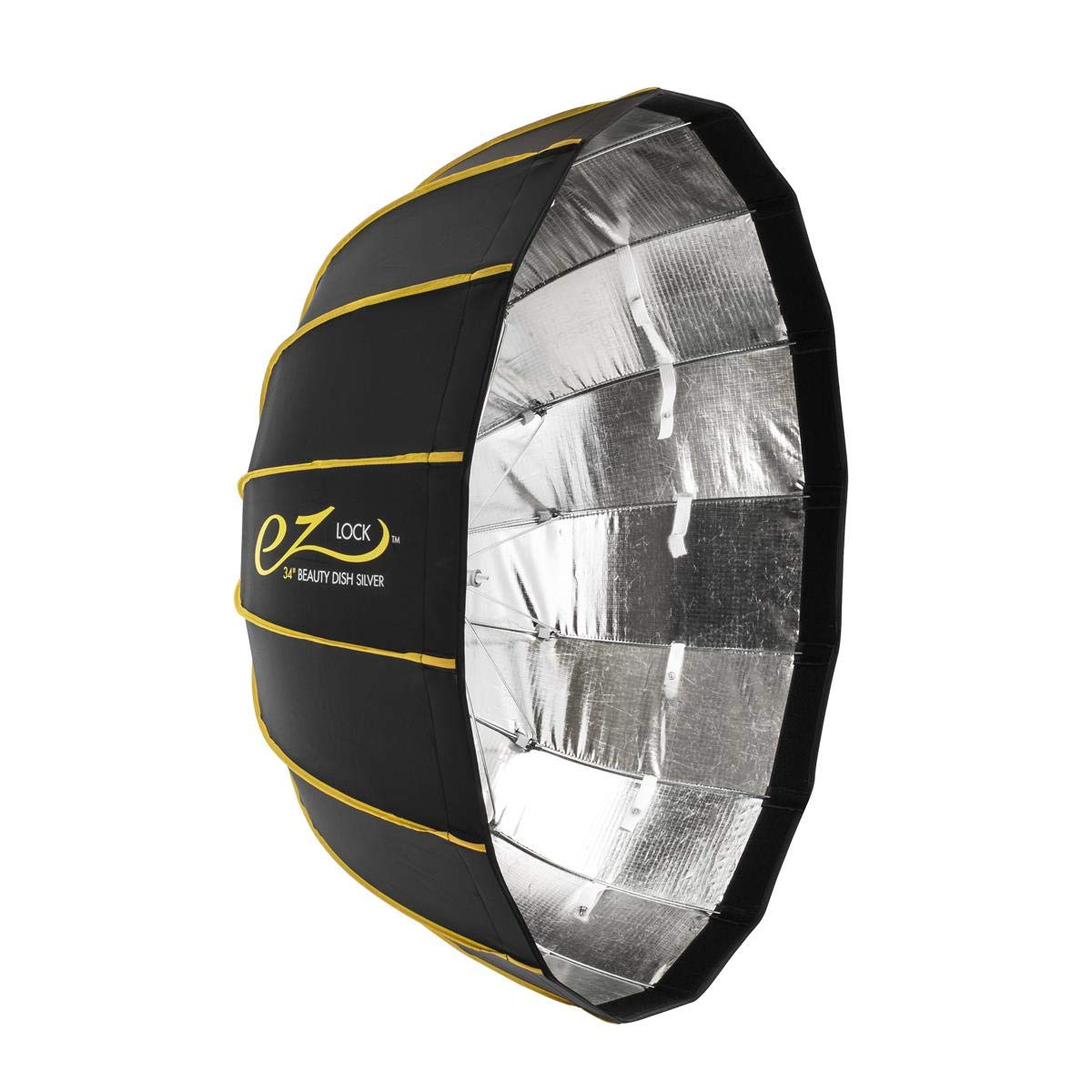 Glow EZ Lock Collapsible Silver Beauty Dish (34'')