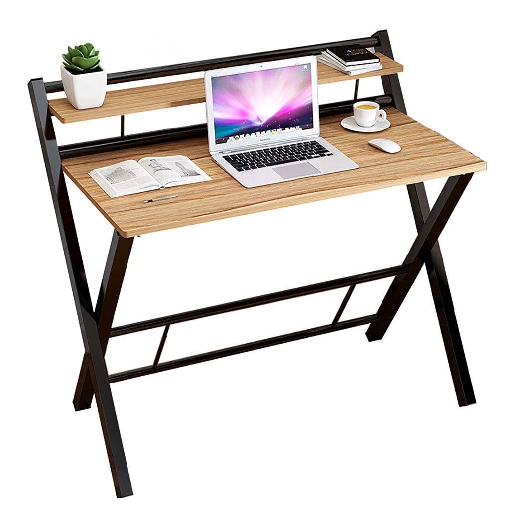 Mesa de café Escritorio De Computadora Plegable Con Marco De Metal ...
