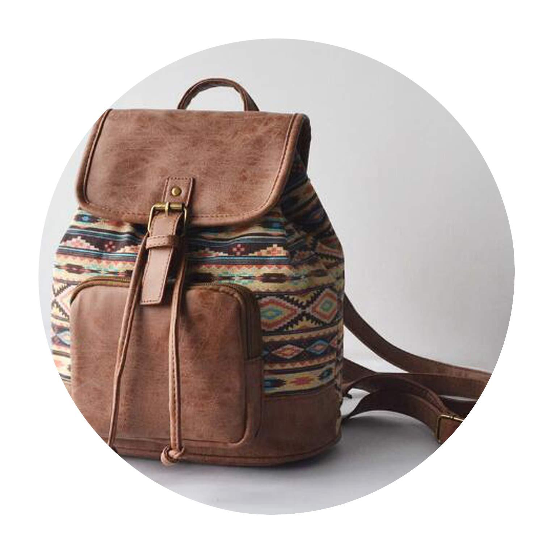 Amazon.com | Backpack Canvas Travel Backpack Rucksack Bolsas ...