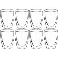 Avanti Café Glass Twin Wall Glass Set, Clear, 15526