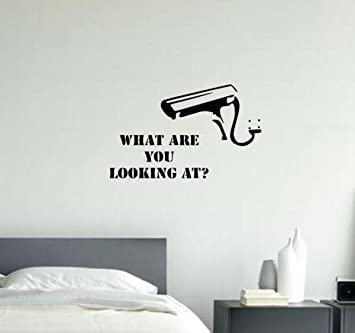 Wonderful Banksy What Are You Looking At ? Wall Decal Sticker Vinyl Street Art  Graffiti A4 Size Part 7