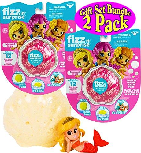 Moose Toys Fizz N Surprise Mermaids Gift Set Bundle   2 Pack  Assorted