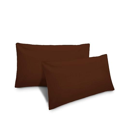Lumaland Funda de Almohada 40x60 marrón