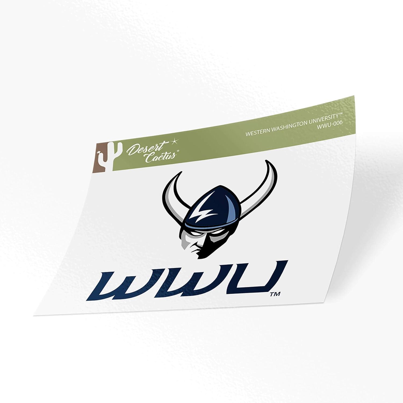 Western Washington University WWU Vikings NCAA Vinyl Decal Laptop Water Bottle Car Scrapbook (Sticker - 006)