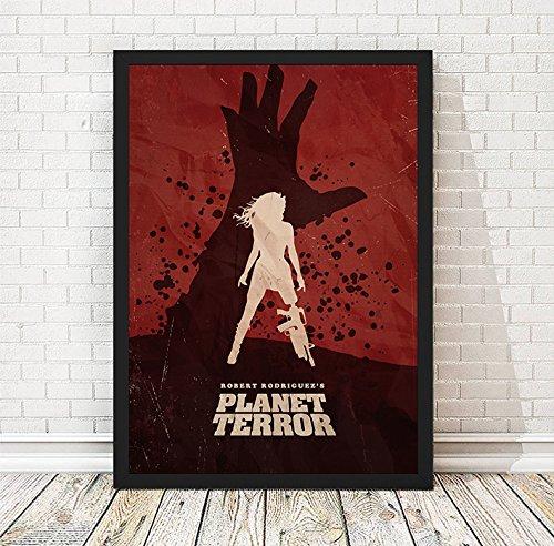 Amazon Com Planet Terror Minimalist Movie Poster Vintage Poster