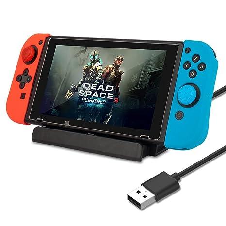 AGPtek Estación de Carga para Nintendo Switch, Base de ...