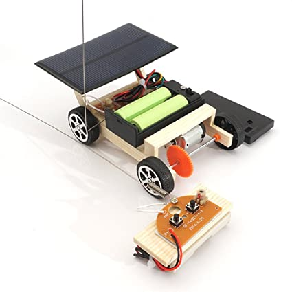 Diy Technology Production Model Wind Up Toys Wind Powered Wind-up Toy Car Moderate Price Model Building