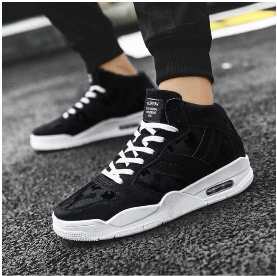 WAXFAS Autumn and Winter Men's Sports Shoes Comfortable Men's Lightweight Casual Shoes Outdoor Running Shoes Sports Shoes 40