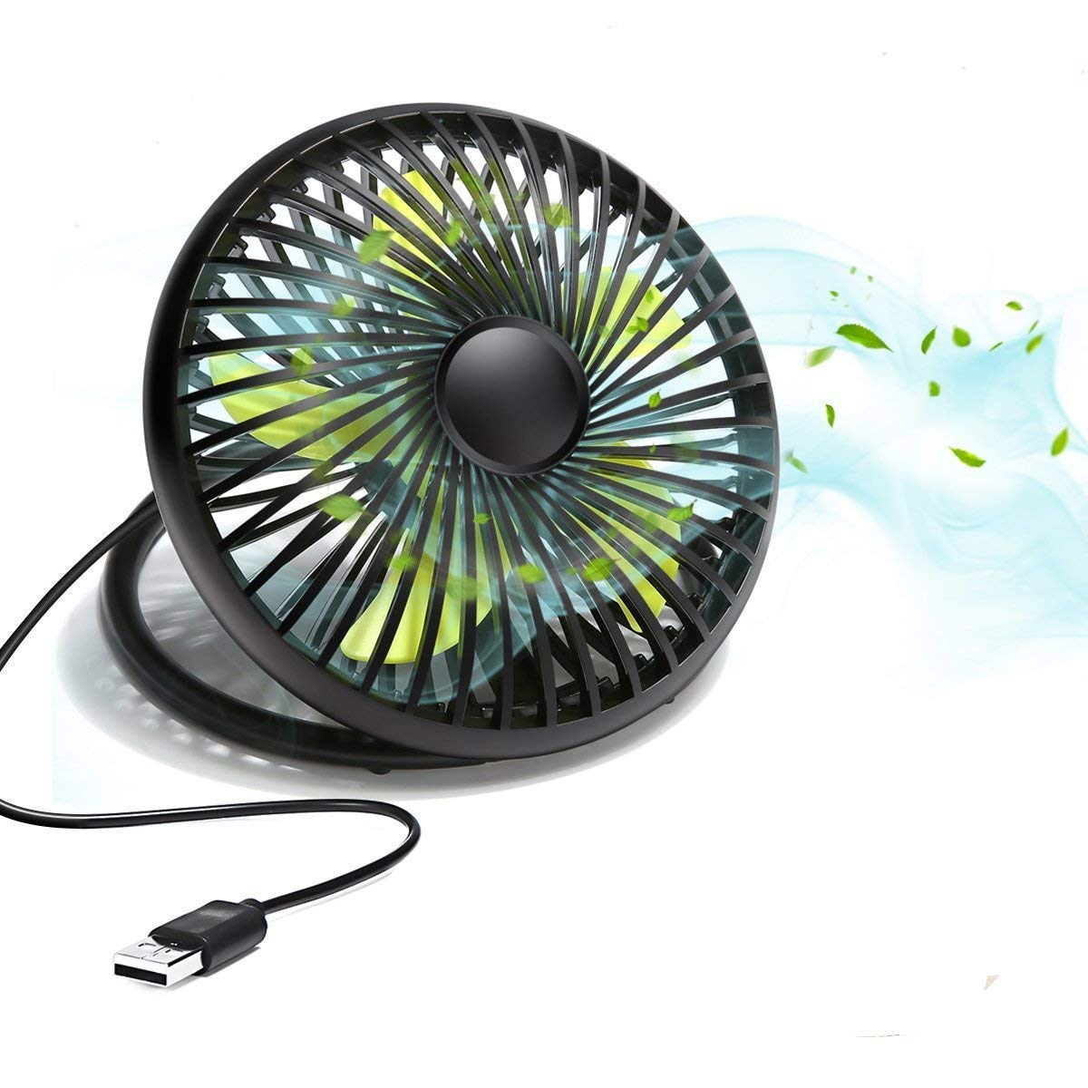 Mini Handheld Fan, MECO Portable Operated Fan Desktop Fan Outdoor Electric Fan with Phone Holder Aromatherapy Design 3 Speeds for Home Office Outdoors Travel-Newest 2018 heacipe2856