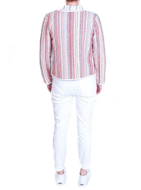 Designers Society Chaqueta Jacquard Blanco/Rojo L 100 ...