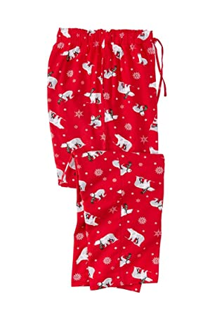 kingsize mens big tall holiday print flannel pajama pants