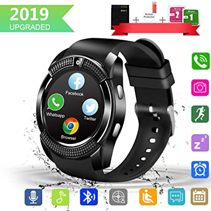 Amazon.com: GuaTcy Smart Watch,Bluetooth SmartWatch with ...