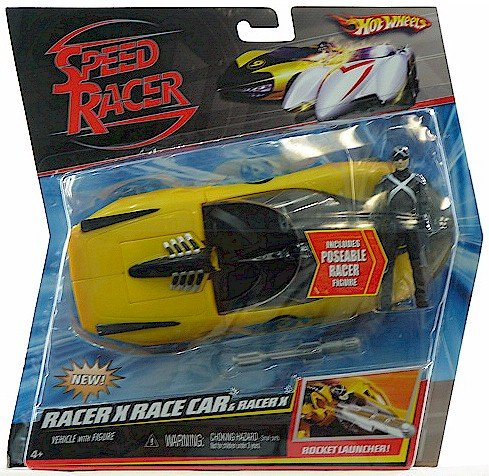 Used, Speed Racer Battle Vehicle Racer X Car with Figure for sale  Delivered anywhere in USA