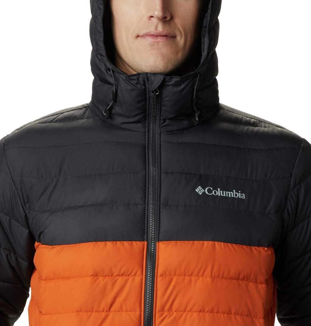 Columbia Mens Powder Lite Hooded Jacket