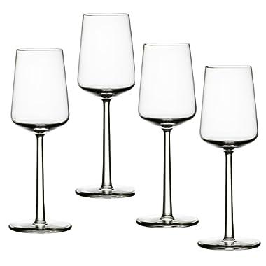 Iittala Essence White Wine Glasses Set of 4