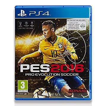 a20db23852 Icons Shop Unisex ICNJSVG1 Neymar Jr Signed Pro Evolution Soccer 2016  Playstation 4 Video Game