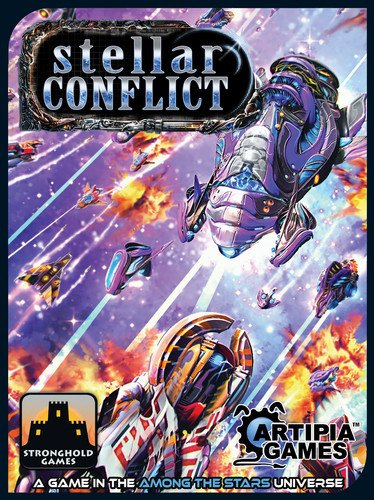 Stronghold Games Stellar Conflict Board Game (Among The Stars Board Game)