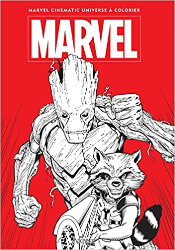 Grand Coloriage Marvel Tome 2 Heroes French Edition 9782012638693 Amazon Com Books