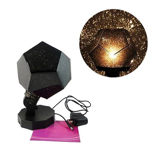 ledmomo Luz nocturna Proyector Estrella Cielo Noche Lámpara 3 ...