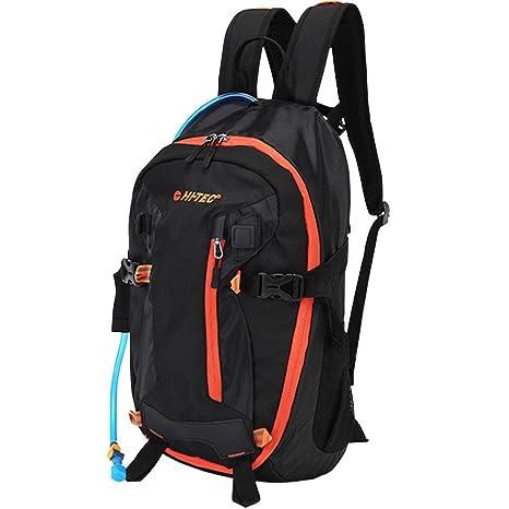 8736443b10c5 Hi-Tec 2018 Mountain 20L Hydration Backpack Sports Training Rucksack  Black Red Orange