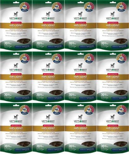Vet's Best Advanced Hip & Joint Soft Chews 360ct (12 x 30ct)