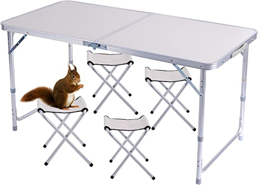 Come realizzare un tavolo da picnic pieghevole e portatile