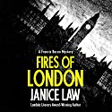 Fires of London: The Francis Bacon Mysteries, Book 1 Audiobook by Janice Law Narrated by Paul Ansdell