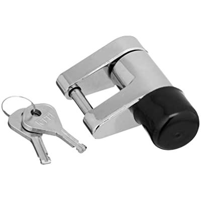 Bulldog 580403 Chrome Coupler Lock: Automotive