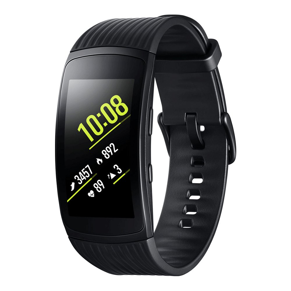 Amazon.com: Samsung Gear Fit2 Pro (SM-R365), Black, Large, Sports Band Smart Watch, International Stock, No Warranty: Cell Phones & Accessories