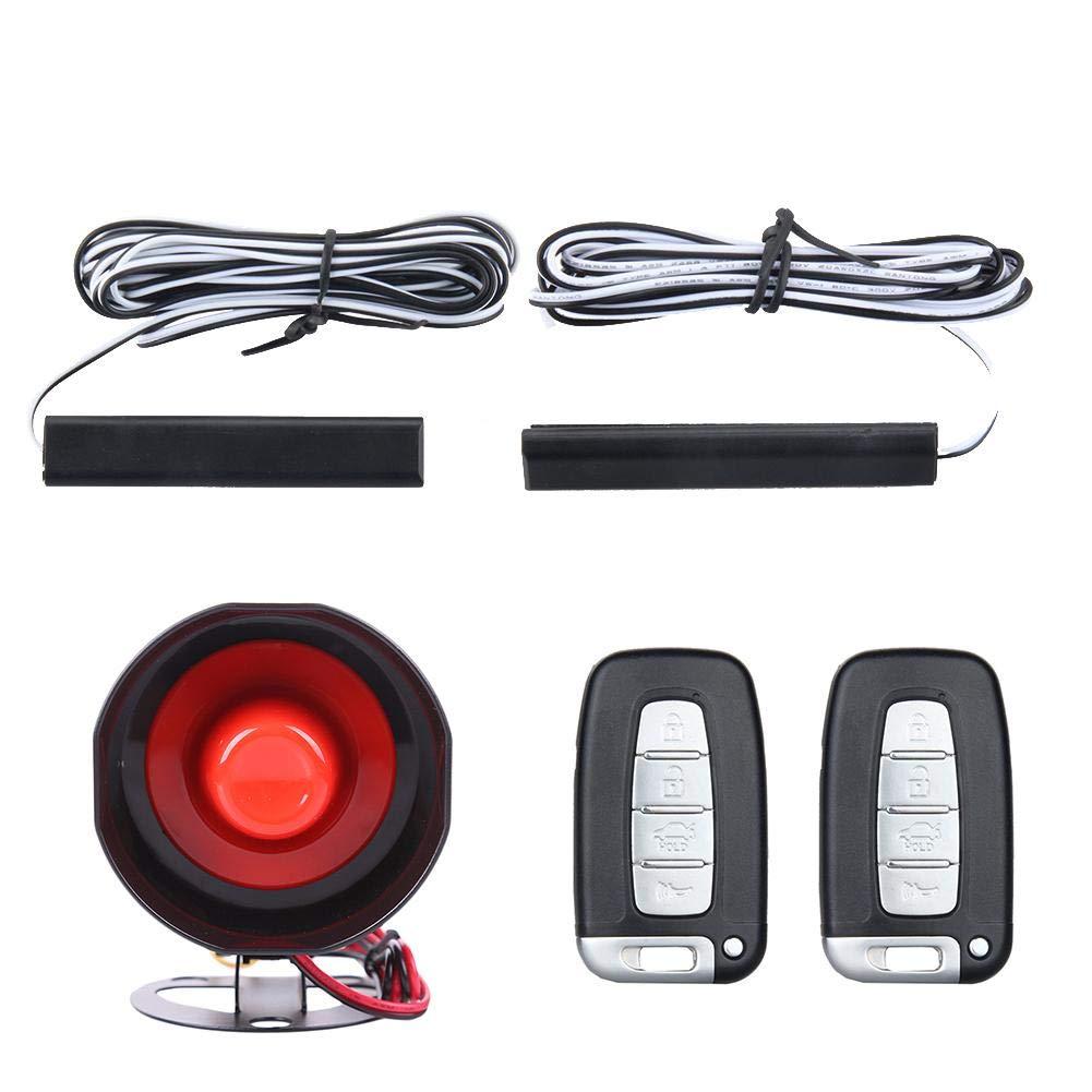 RUNGAO - Sistema de Alarma para Coche con botón de Arranque ...