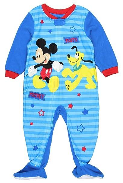 Amazon.com: Disney Mickey Mouse Pluto pijama manta Sleeper ...