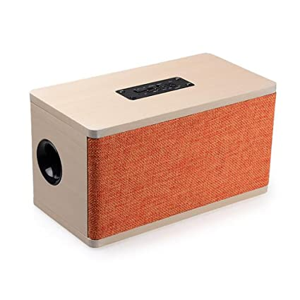 Review Wooden Bluetooth Speaker: Retro