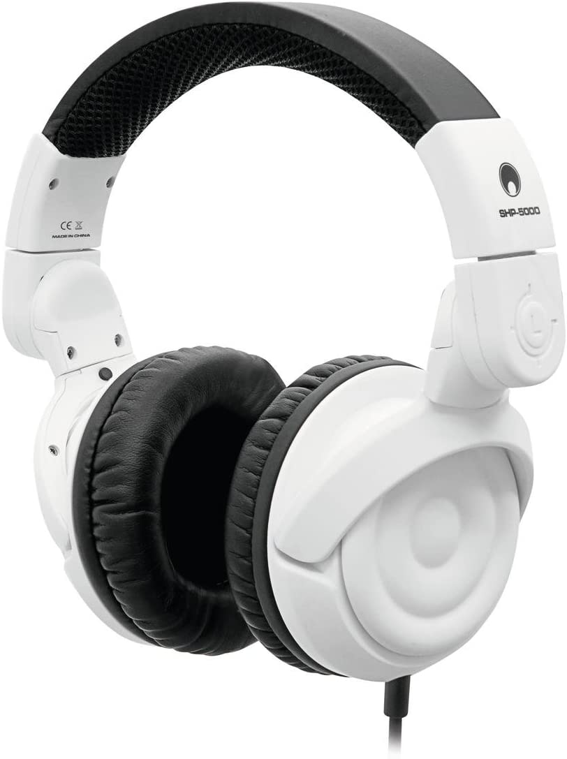 Set de 2 x Auriculares cerrados de DJ ROBOT, dinámicos, blanco ...