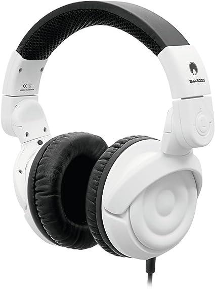 Set de 2 x Auriculares cerrados de DJ ROBOT, dinámicos, blanco - Pack de auriculares / Set de cascos cerrados - showking: Amazon.es: Instrumentos musicales
