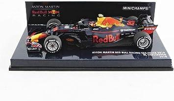 Minichamps 410180033 1 43 2018 Aston Martin Red Bull Racing Rb14 Max Verstappen Multi Amazon De Spielzeug