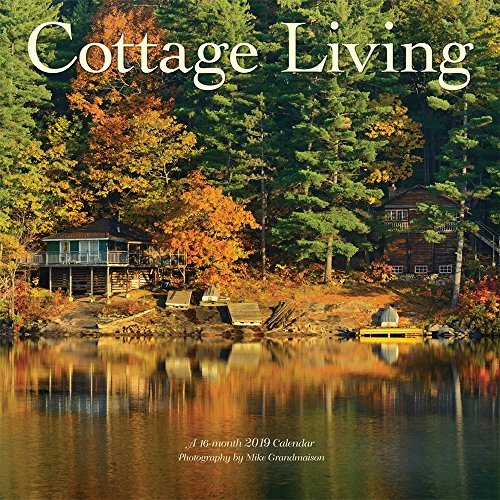 Cottage Living 2019 12 x 12 Inch Monthly Square Wall Calendar by Wyman, Outdoor Nature Rural (Kim Jacobs Calendar)