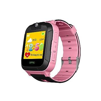 Reloj inteligente para niños, Luerme 3G niños Smartwatch GPS Antipérdida reloj de pulsera SimSOS Call