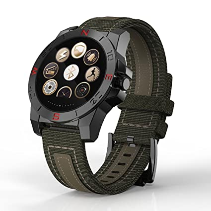 gx-bw100 Heart Rate Prueba thermoter IP67 Exterior Impermeable reloj inteligente para Android IOS,