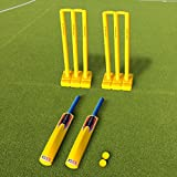 Backyard Cricket Set - Complete Cricket Set For The Backyard (Senior Set) [Net World Sports]