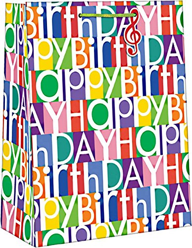 Paper Images Large Every Day Gift Bag (Happy Birthday) (Gifts For Large Groups)