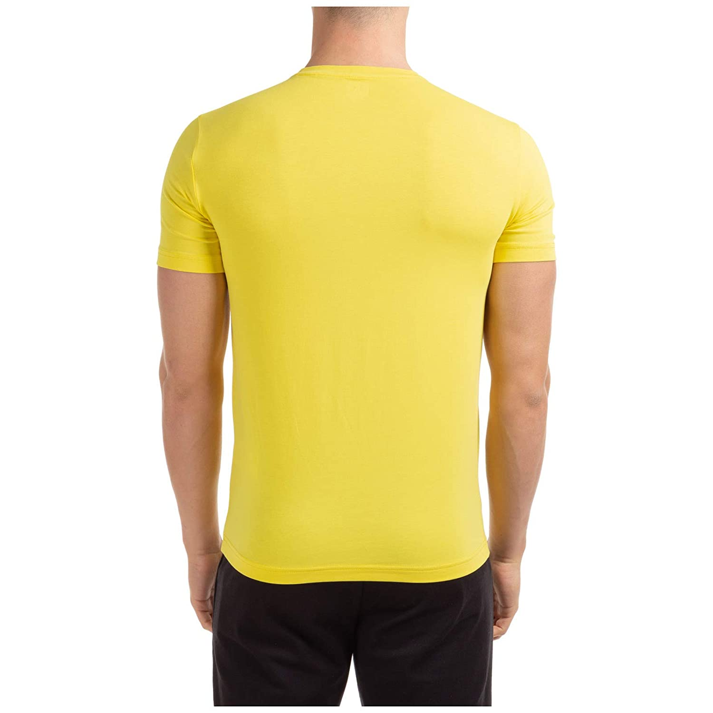 Emporio Armani EA7 Hombre Camiseta Giallo M: Amazon.es: Ropa y ...