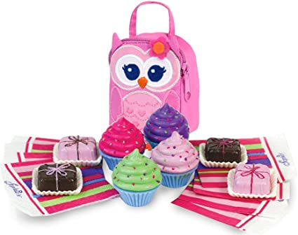 "4 Vanilla Yogurt w//Berries Bowls,Spoons,Napkins 18/"" American Girl Doll Food"