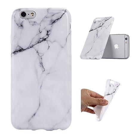 coque iphone 7 silicone marbre