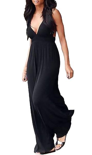 199a464a32 Abiti Da Cerimonia Donna Estivi Eleganti Lunghi Vestito Larghi Senza ...