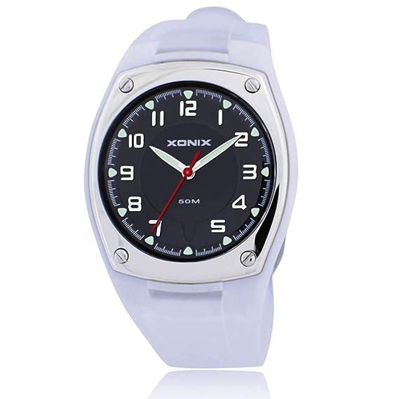 Relojes hombres/simplicidad y la mode, impermeable, reloj de niño de quartz-a: Amazon.es: Relojes