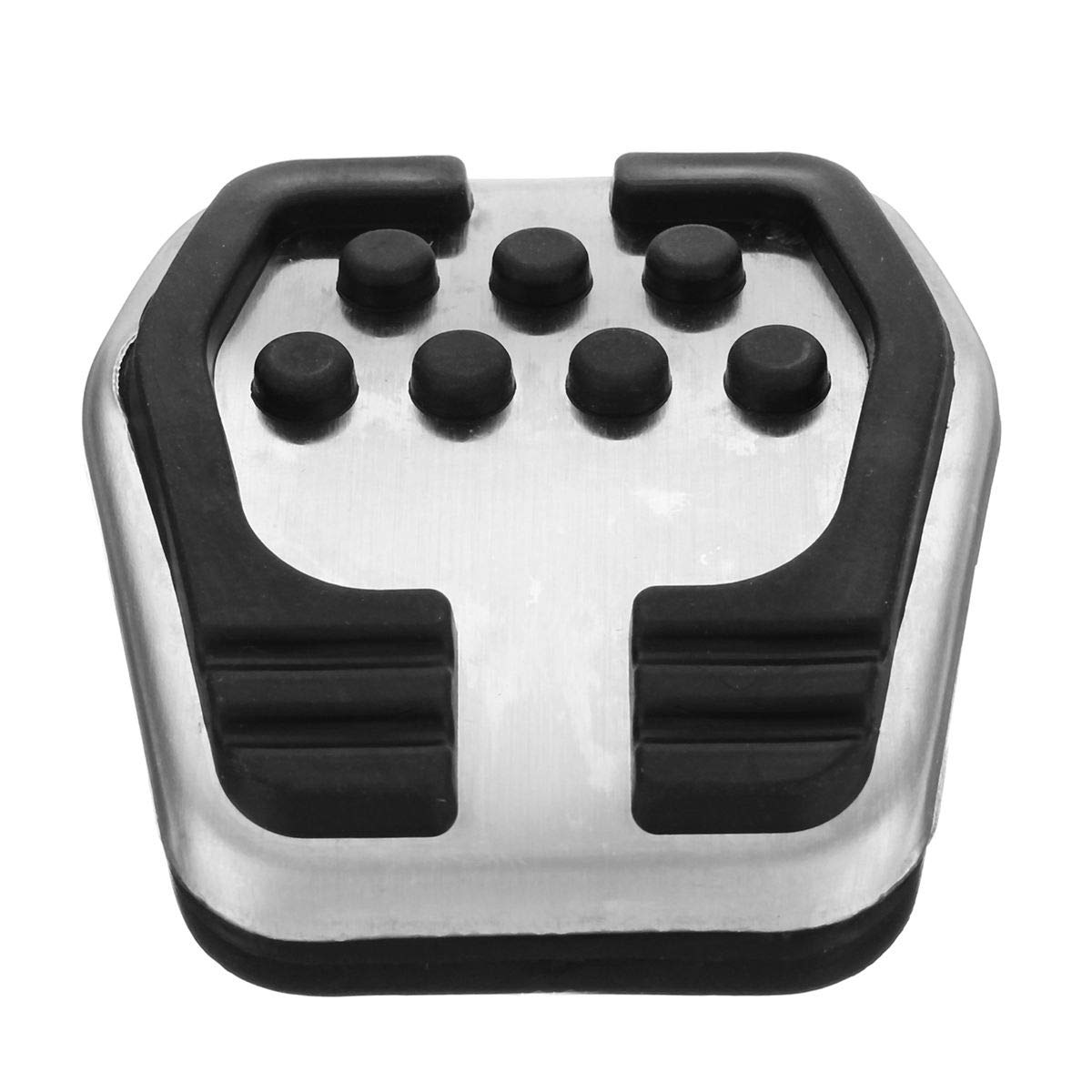 Stainless Car Clutch Brake MT Pedals Covers Pad Non Slip No Drilling for Ford//Focus 2 MK2Focus 3 MKFocus 4 MK4 RS ST 2005-2018