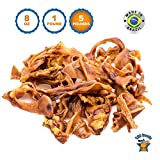 Cheap | Pigs Ears Strips for Dogs (5 Pounds – Brazil) 100% Natural Pig Ear Dog Treats Pork Chews