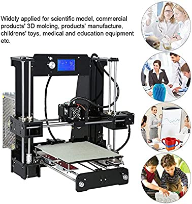 Impresora 3d, impresora 3d, Anet A6 Desktop manualidades, con ...